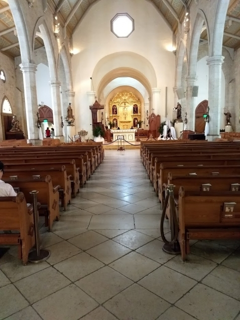 San Antonio Church Interior