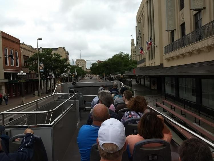 Touring San Antonio